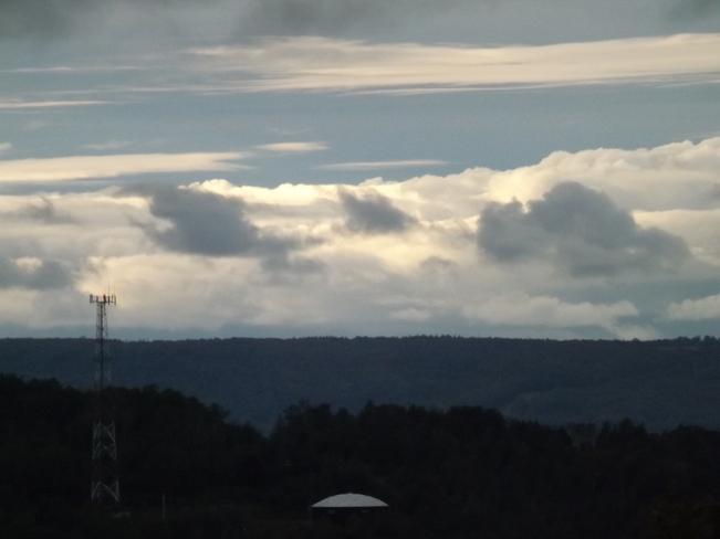 clouds everywhere New Minas, Nova Scotia Canada