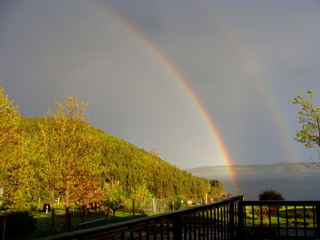 Double Rainbow Eastport, Newfoundland and Labrador Canada