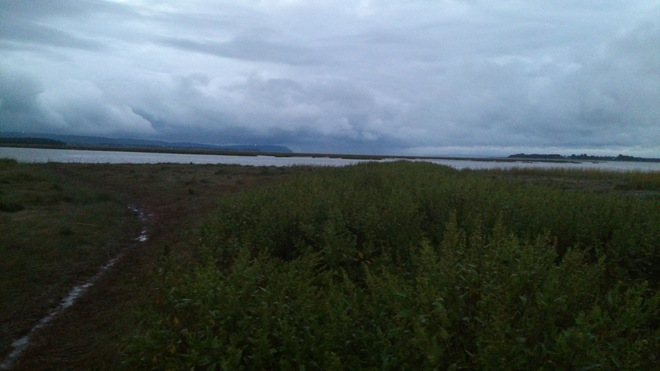 Cloudy times on Blomidon Wolfville, Nova Scotia Canada