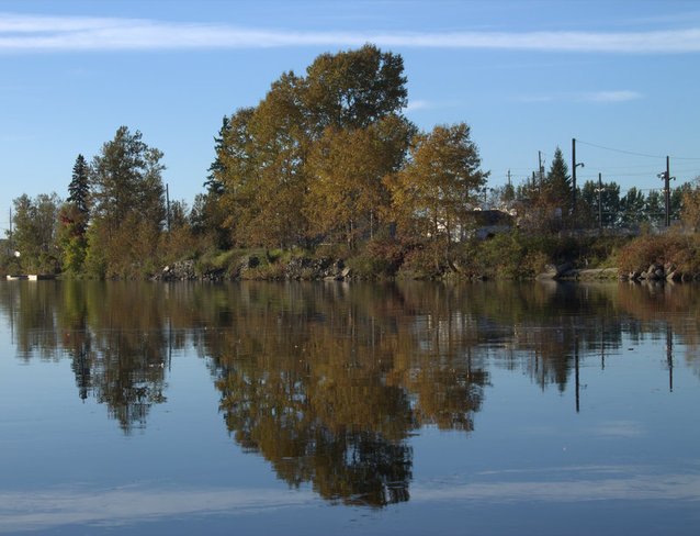 """reflection"" Timmins, Ontario Canada"