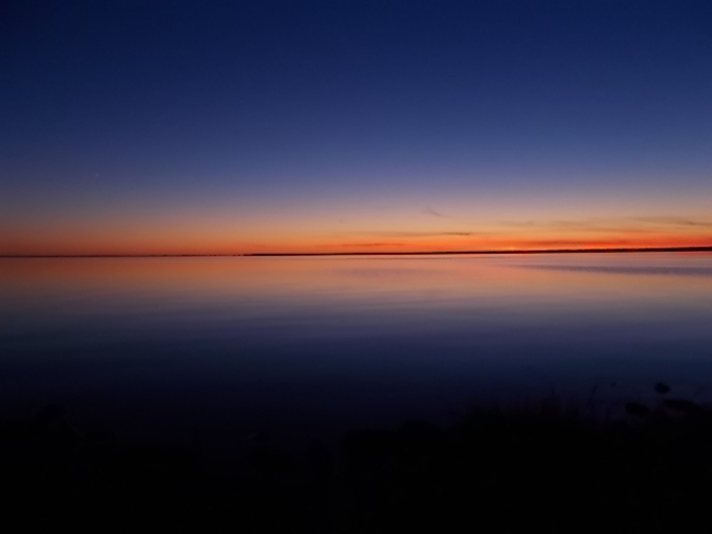 sunset on Lake Nippissing North Bay, Ontario Canada