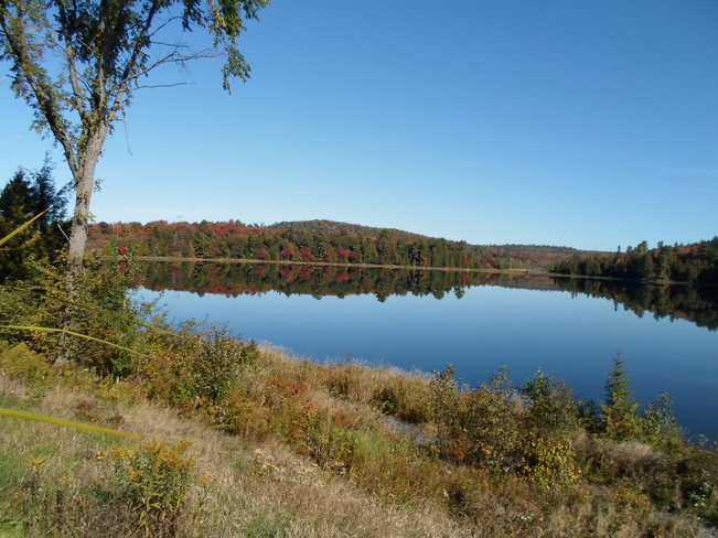 Reflections of Lake Horne Elliot Lake, Ontario Canada