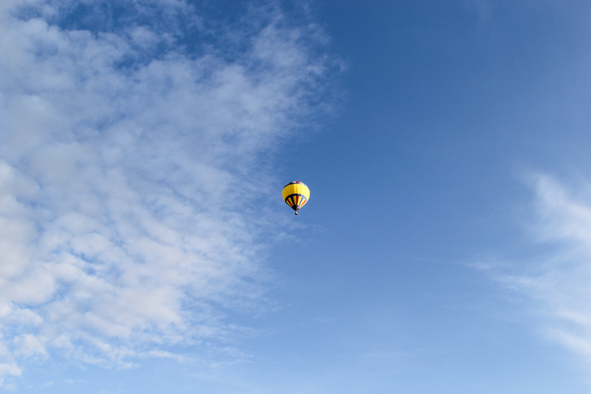 Up, Up and Away! High River, Alberta Canada