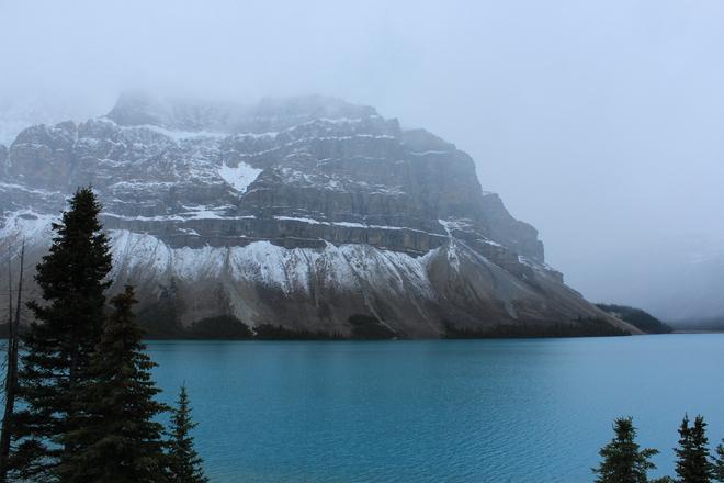 Foggy Day Saltcoats, Saskatchewan Canada