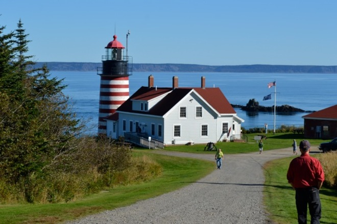 West Quoddy Lighthouse Lubec, Maine United States