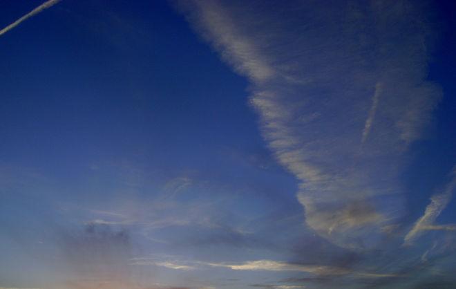 Feathery Sunset Saskatoon, Saskatchewan Canada