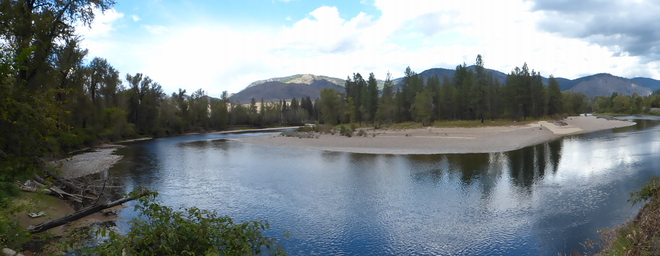 Kettle river Grand Forks, British Columbia Canada