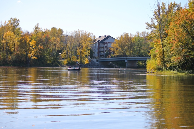 Fall Fishing Laval, Quebec Canada