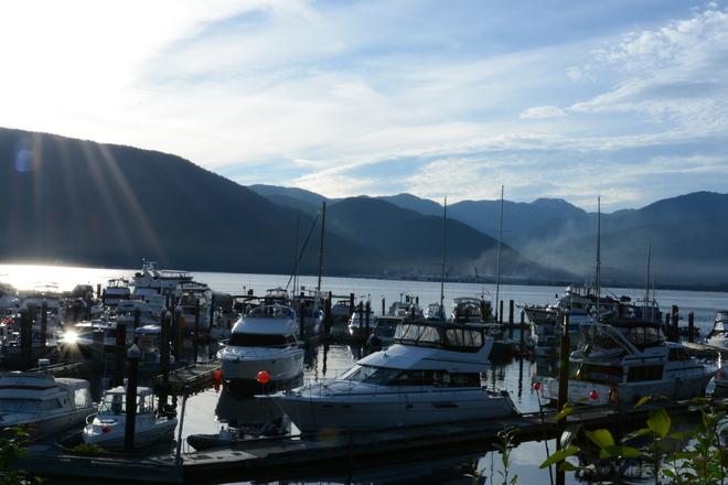 Nice day Kitimat, British Columbia Canada