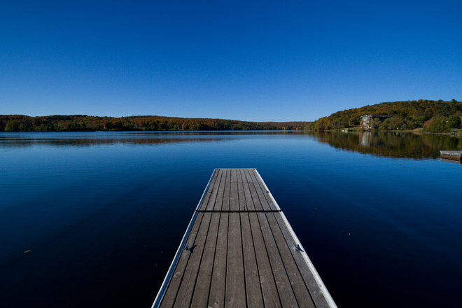 Blue Skies, Nothin' but blue skies do I see! Haliburton, Ontario Canada