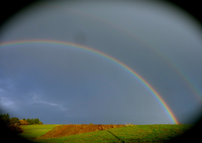 Double Rainbow @ Sidney BC Sidney, British Columbia Canada