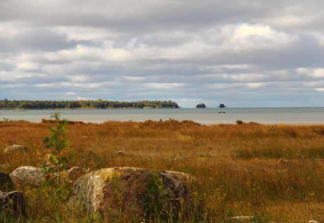 Autumn Comes to Red Bay, Ontario. Red Bay, Ontario Canada