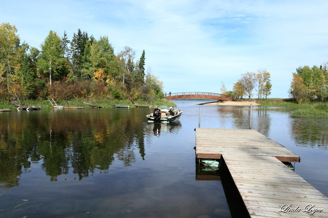 Die-Hard Fisher Rennie, Manitoba Canada