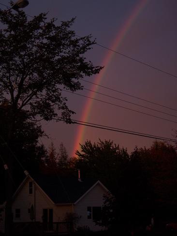 Double Rainbow Nappan, Nova Scotia Canada