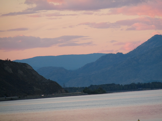 sunset on the Okanagan..... Penticton, British Columbia Canada