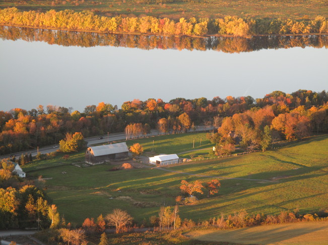 Fall at Springhill Farms. Fredericton, New Brunswick Canada