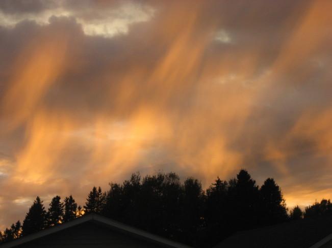 burning skies Memramcook, New Brunswick Canada