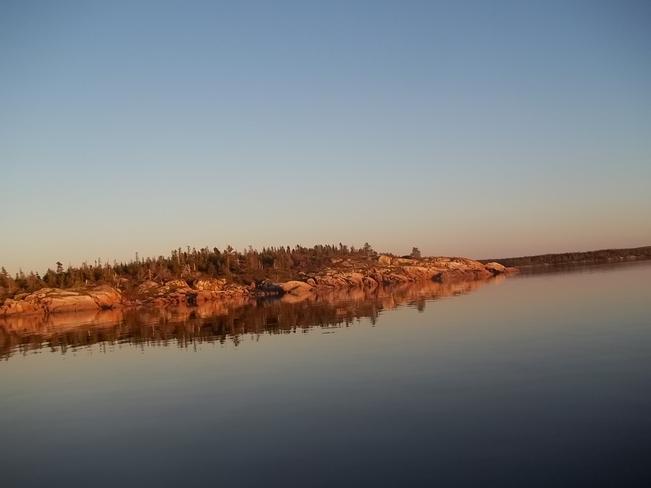 Sunset Glow Birchy Bay, Newfoundland and Labrador Canada
