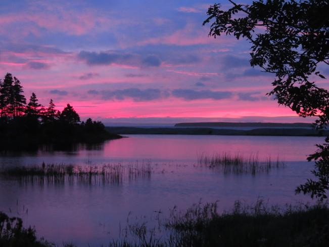 sunset Conception Bay South, Newfoundland and Labrador Canada