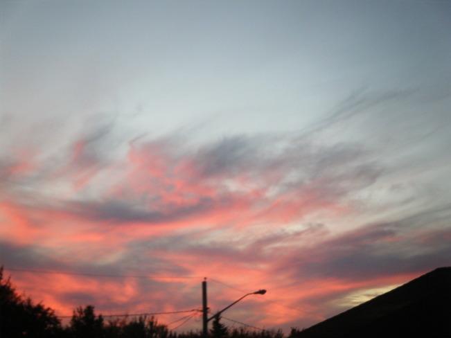 nice sunset Moncton, New Brunswick Canada