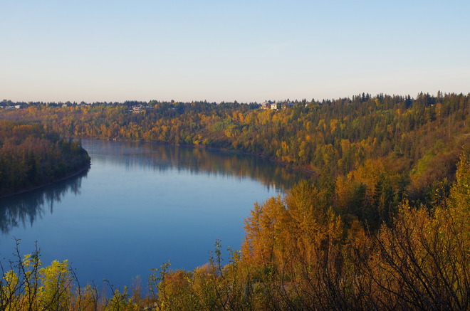 river valley edmonton Edmonton, Alberta Canada