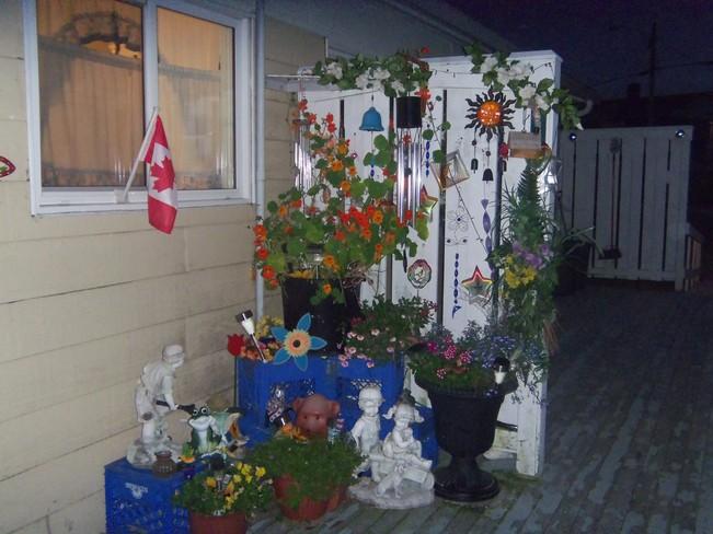 PATIO GARDEN Canso, Nova Scotia Canada