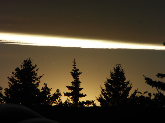 The sky! Calgary, Alberta Canada