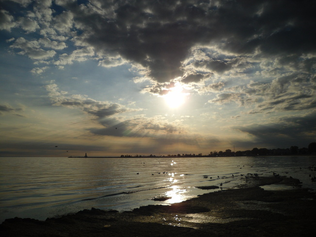 Lake ont sunset Cobourg, Ontario Canada