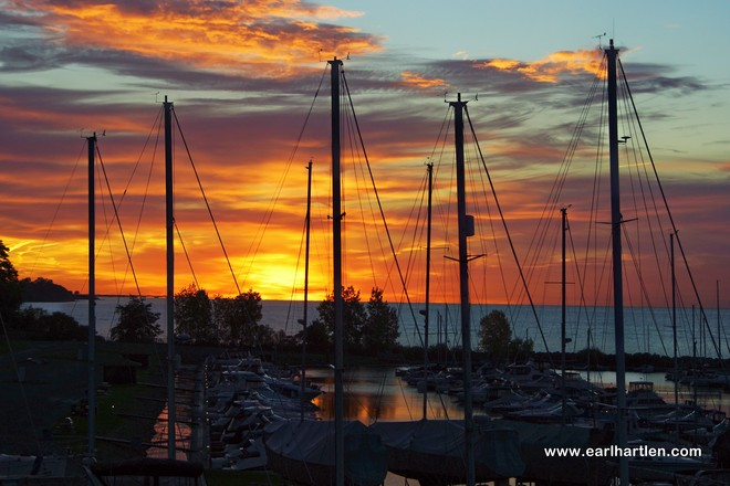 Port Dover's Fall Sunrise Port Dover, Ontario Canada