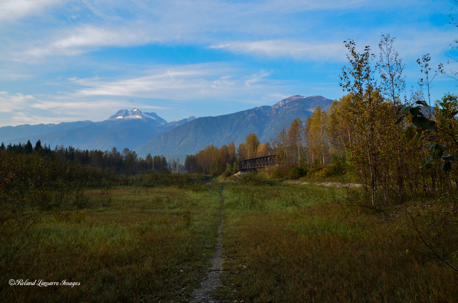 fall day Revelstoke, British Columbia Canada