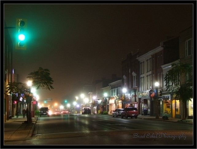 ... Once Upon On a Foggy Fall Night... Simcoe, Ontario Canada