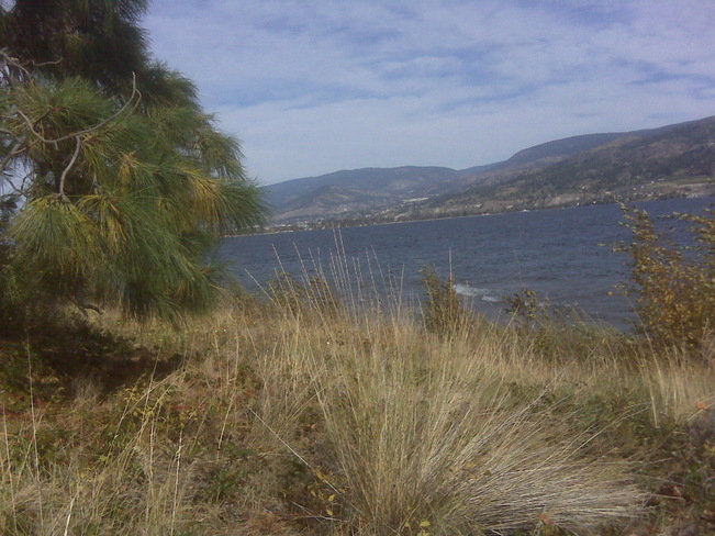 Waves but warm beautiful day Penticton, British Columbia Canada