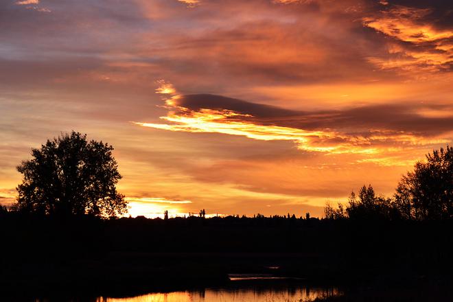 Calgary sunrise Calgary, Alberta Canada