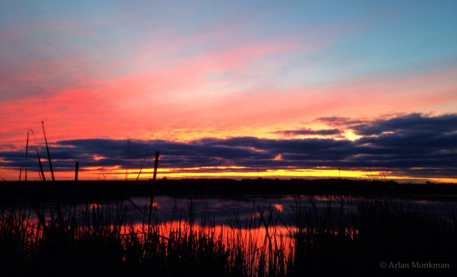 beautiful fall Brokenhead, Manitoba Canada
