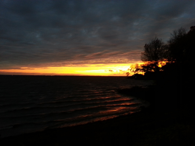 Sunset in Dorval Dorval, Quebec Canada