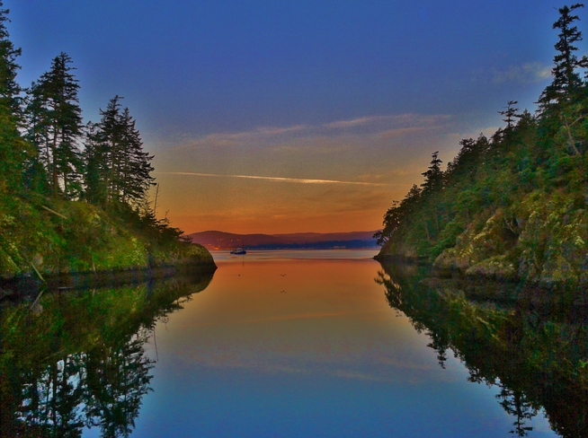 ... morning at Roche Cove in East Sooke Sooke, British Columbia Canada