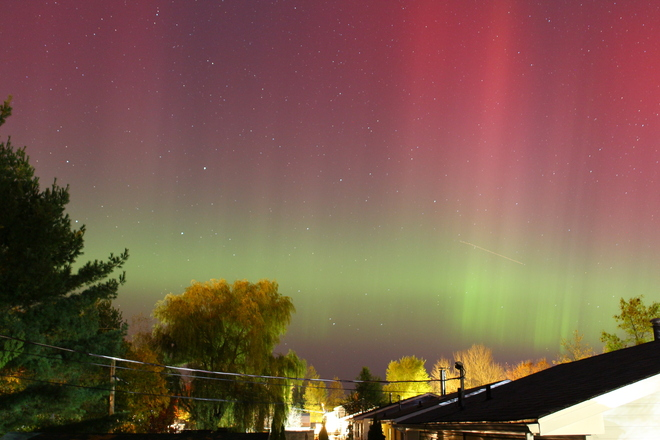 Northern Lights Fredericton, New Brunswick Canada