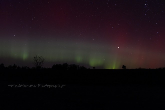 Northern Lights in Huron East! Brussels, Ontario Canada