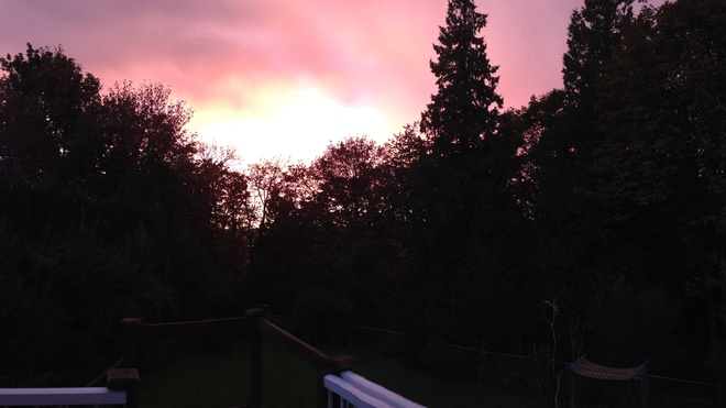sunset Abbotsford, British Columbia Canada