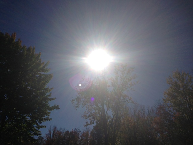 october sunny day L'Île-Perrot, Quebec Canada