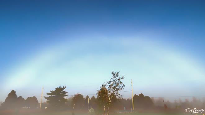 A Fog Rainbow????? Smiths Falls, Ontario Canada