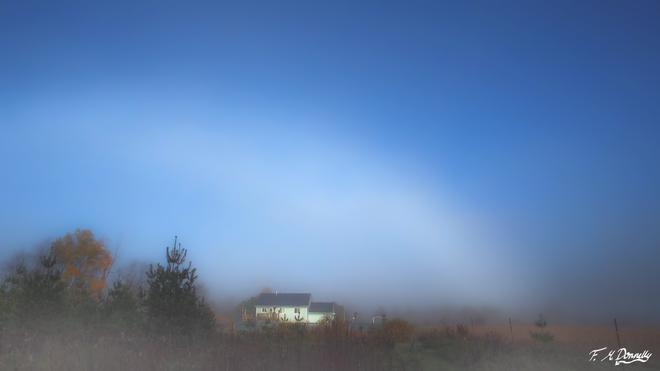 A Foggy Rainbow????? Smiths Falls, Ontario Canada