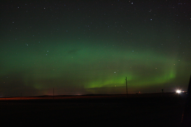 Northern Lights Reward, Saskatchewan Canada