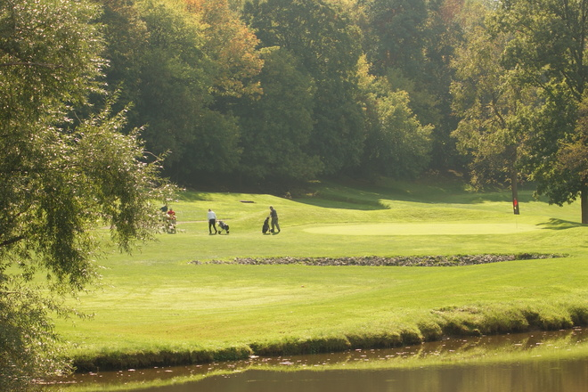 The Second Hole @ St. Davids Golf Club Niagara On The Lake, Ontario Canada
