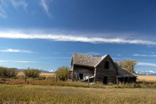 A home for so many years. Cowley, Alberta Canada