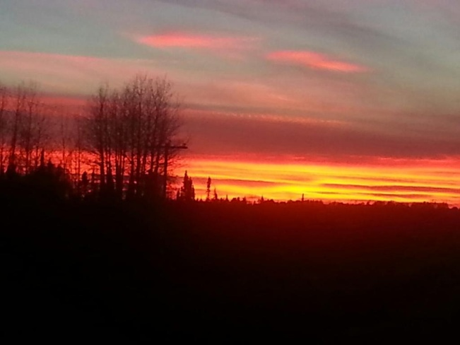 The Magnificiant Sunset!!! Connaught, Ontario Canada