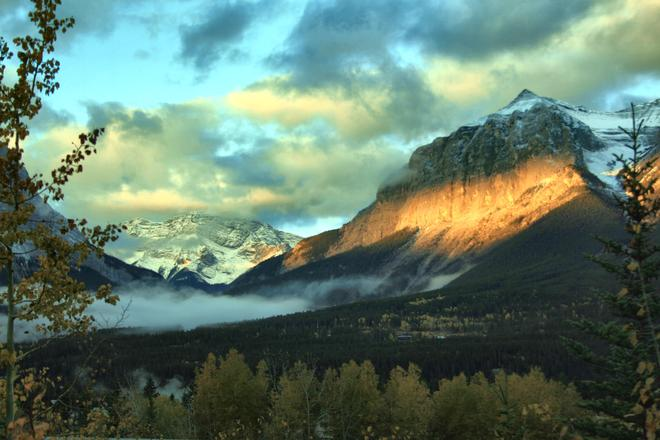 Rocky Mountains Canmore, Alberta Canada