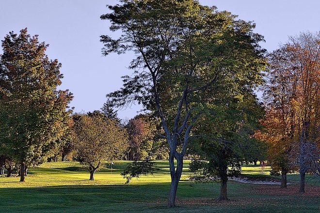 Autumn at the Maitland Golf Course Goderich, Ontario Canada