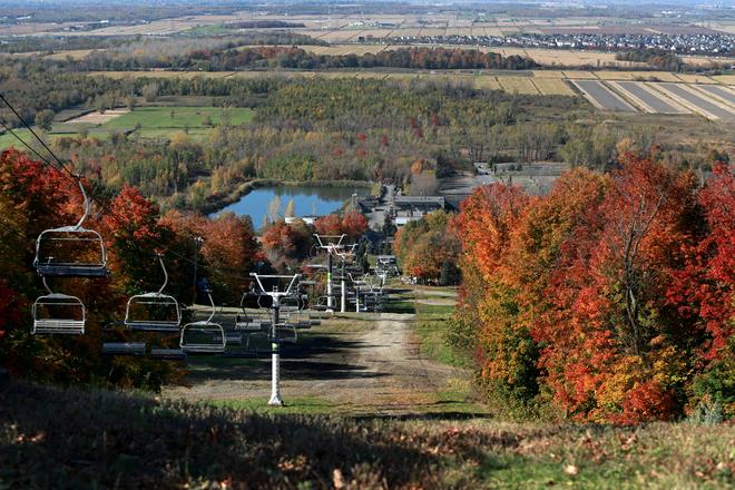 Panoramic view Saint-Bruno-de-Montarville, Quebec Canada