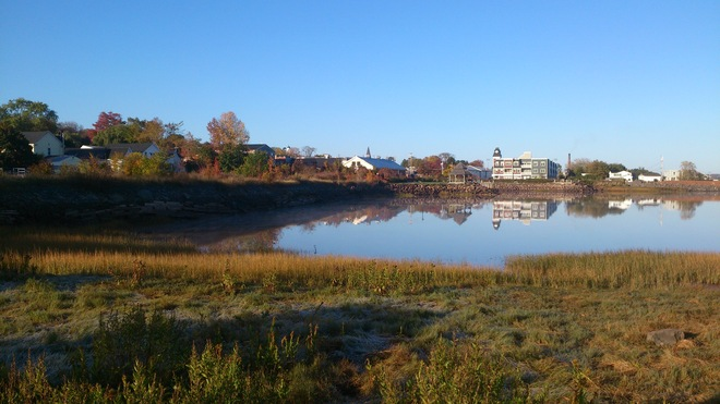 The Fall Wolfville Harbour Wolfville, Nova Scotia Canada